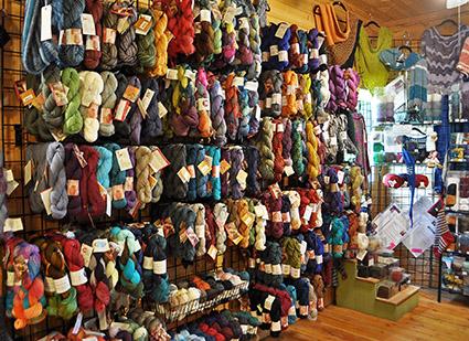 Alpaca Yarn Store Banner Elk NC