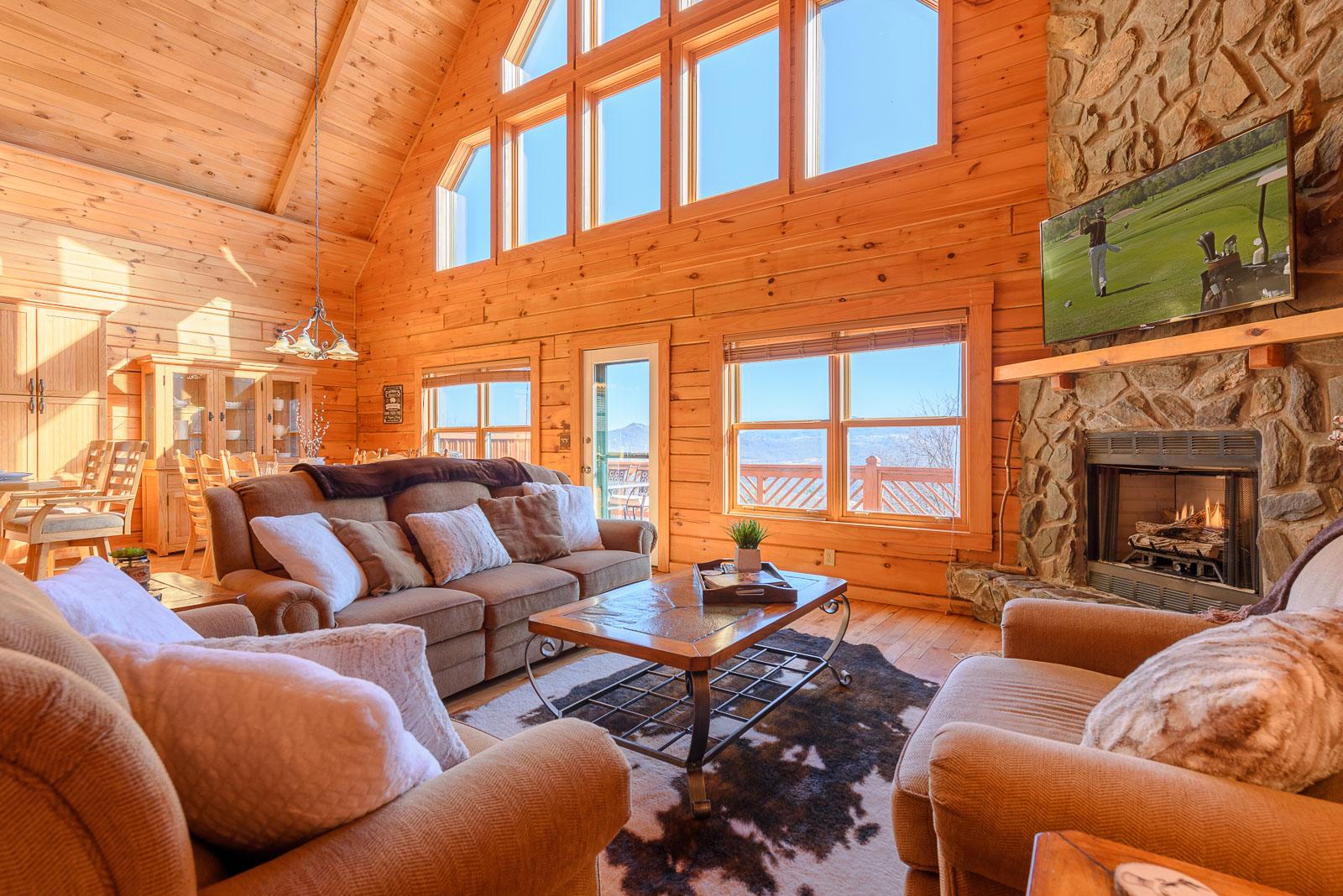Rental Cabin Banner Elk NC