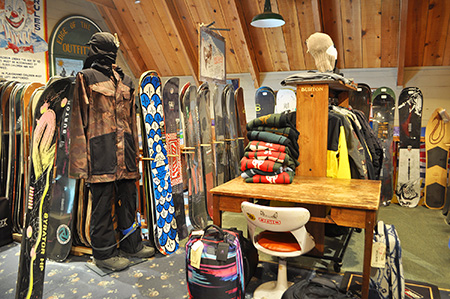 Snowboard shop Banner Elk NC