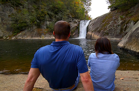 Elk River Falls near Banner Elk, NC