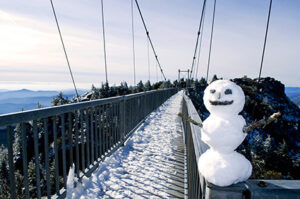 Visit Grandfather Mountain in winter