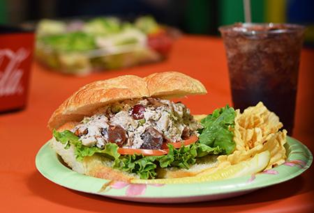 Dunn's Deli sandwich in Banner Elk, NC
