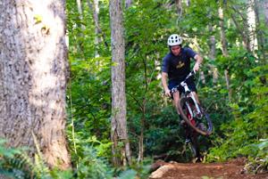 Rocky Knob Mountain Bike Park Banner Elk Nc