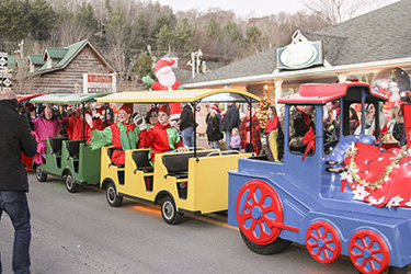 Christmas Festival in Blue Ridge Mountains