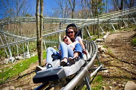 Alpine Roller Coaster Banner Elk North Carolina